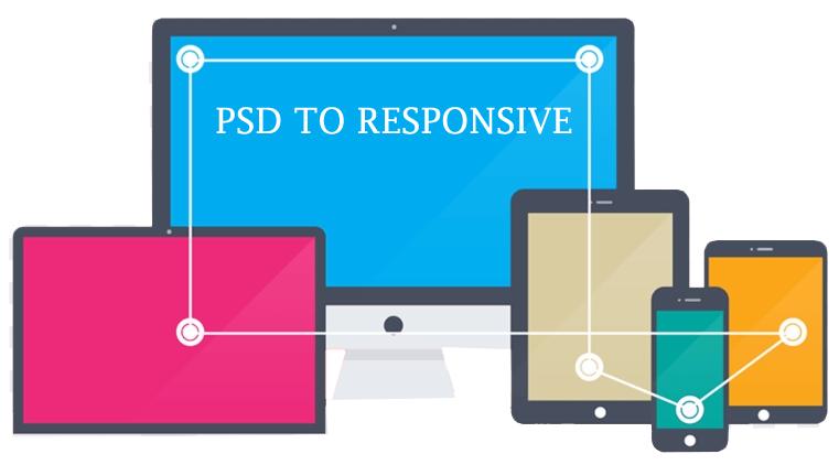 convert psd to website